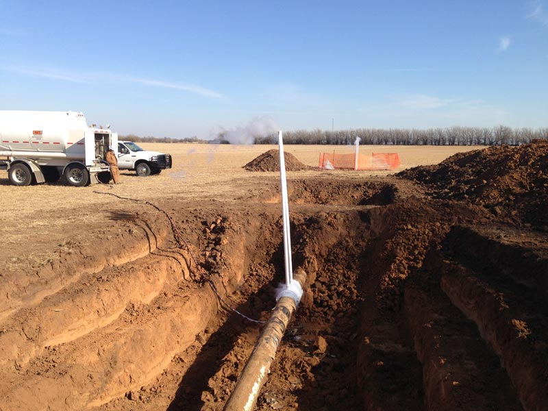 Industrial Pipe Leak Detection