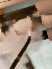 """4"""" solid pipe freeze plugging services"""