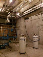 Liquid Nitrogen Cryostop Ice Plugging Services